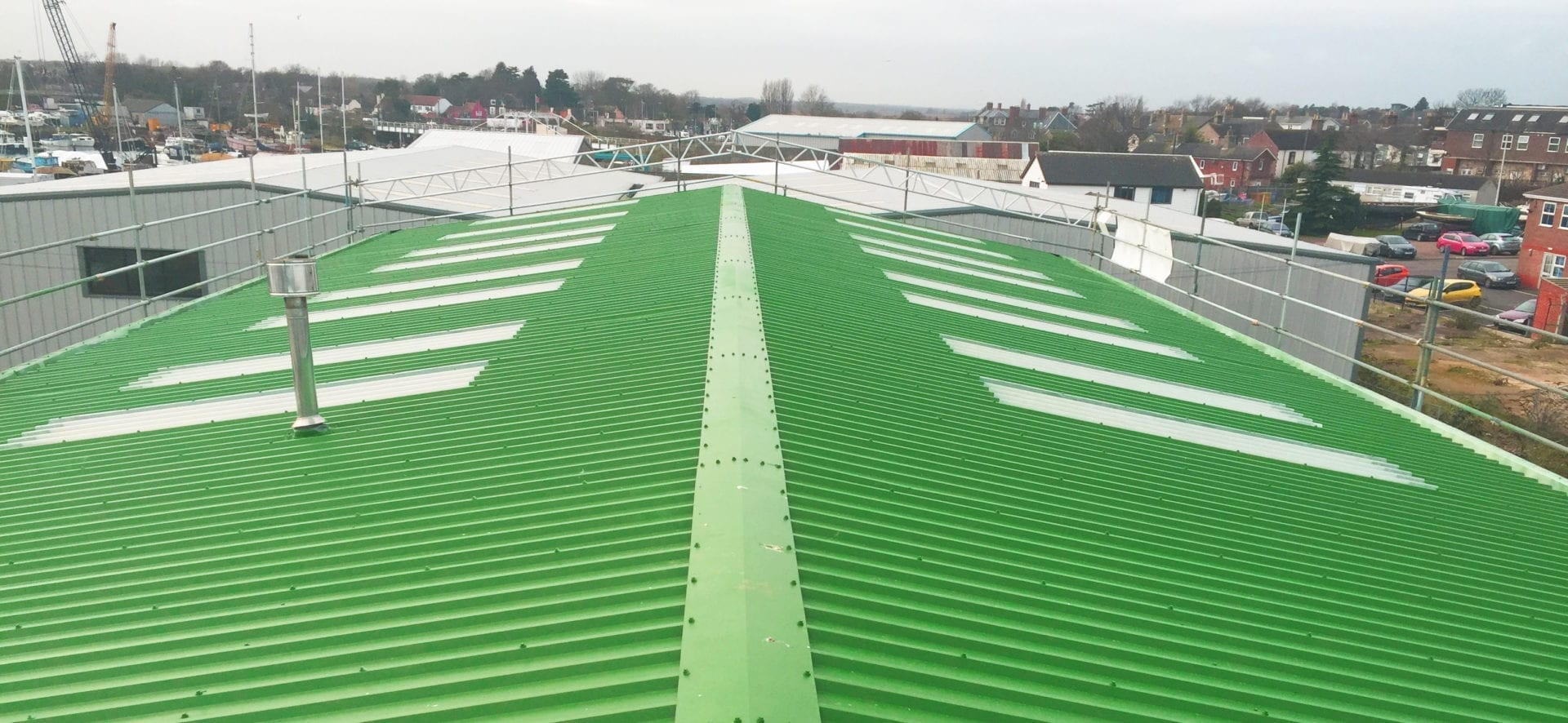 Roof coating modbay