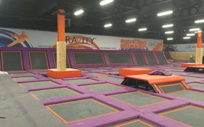 Leisure Industry Floor Coating | Gravity Trampoline Park