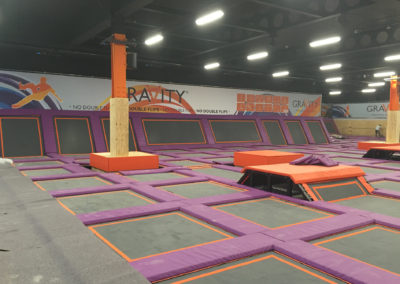 Leisure Industry Floor Coating | Gravity Trampoline Park