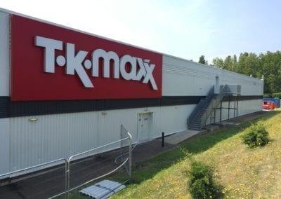 Cladding Respraying | T. K. Maxx