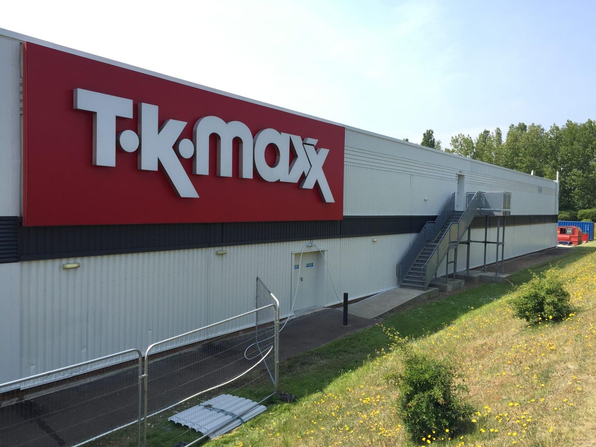 Tk Maxx Great Yarmouth Cladspray Solutions