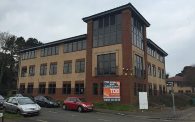 Office Window Spraying | Northampton