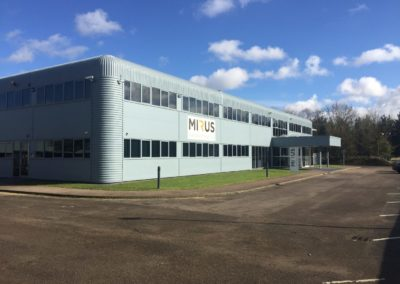Factory Cladding Respray, Hingham