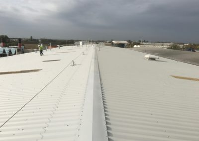 Industrial Roof Repair & Refurbishment, March