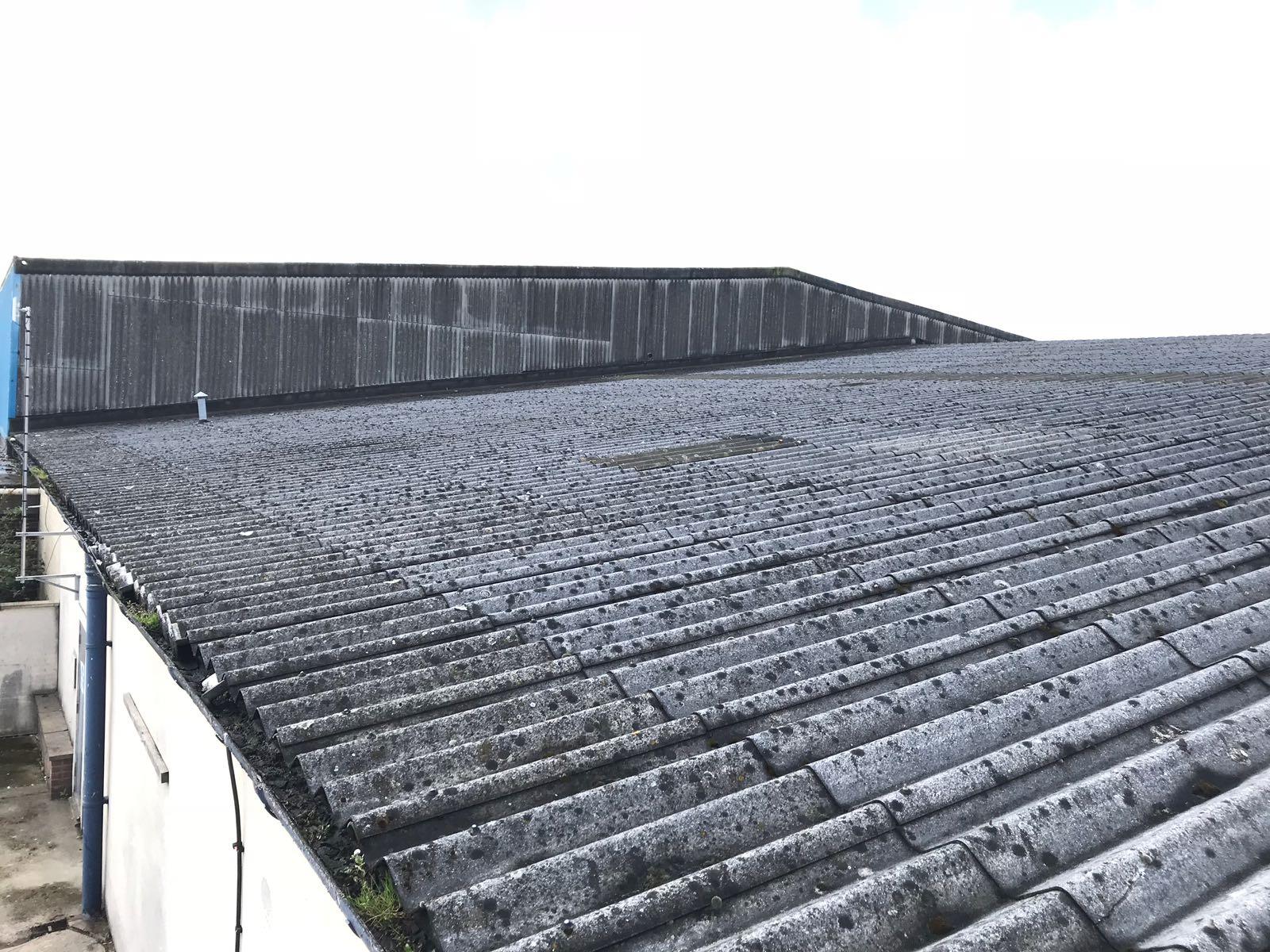 asbestos roof repair