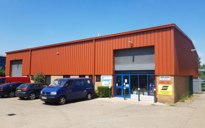 Industrial Unit Building Painting | Cambridgeshire