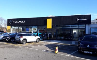 Car Showroom Spraying | Renault