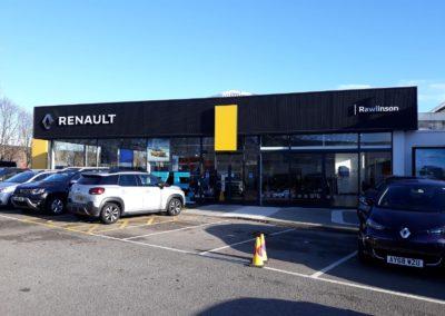 Car Showroom Spraying | Renault