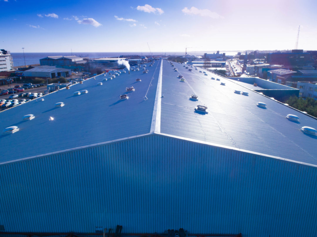 Industrial Roof Refurbishment | Birds Eye, Lowestoft