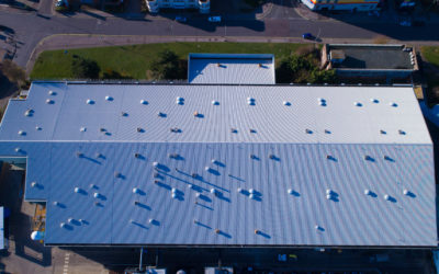 How to fix a commercial roof leak