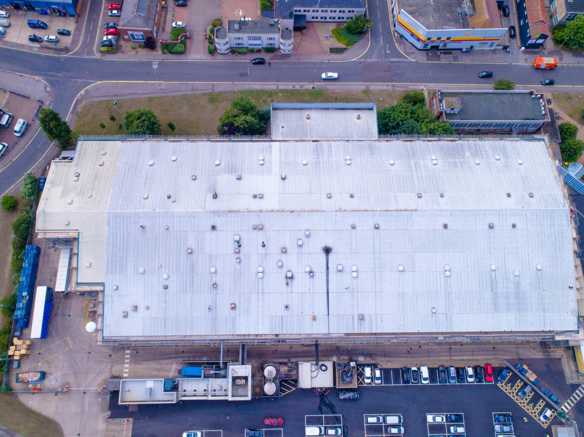 industrial roof coating