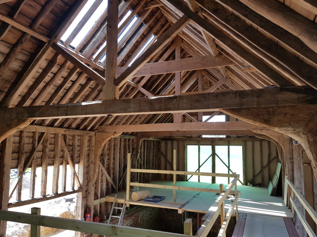Timber Frame Fire Protection | Suffolk