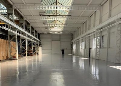 Epoxy Resin Flooring | Warehouse Renovation