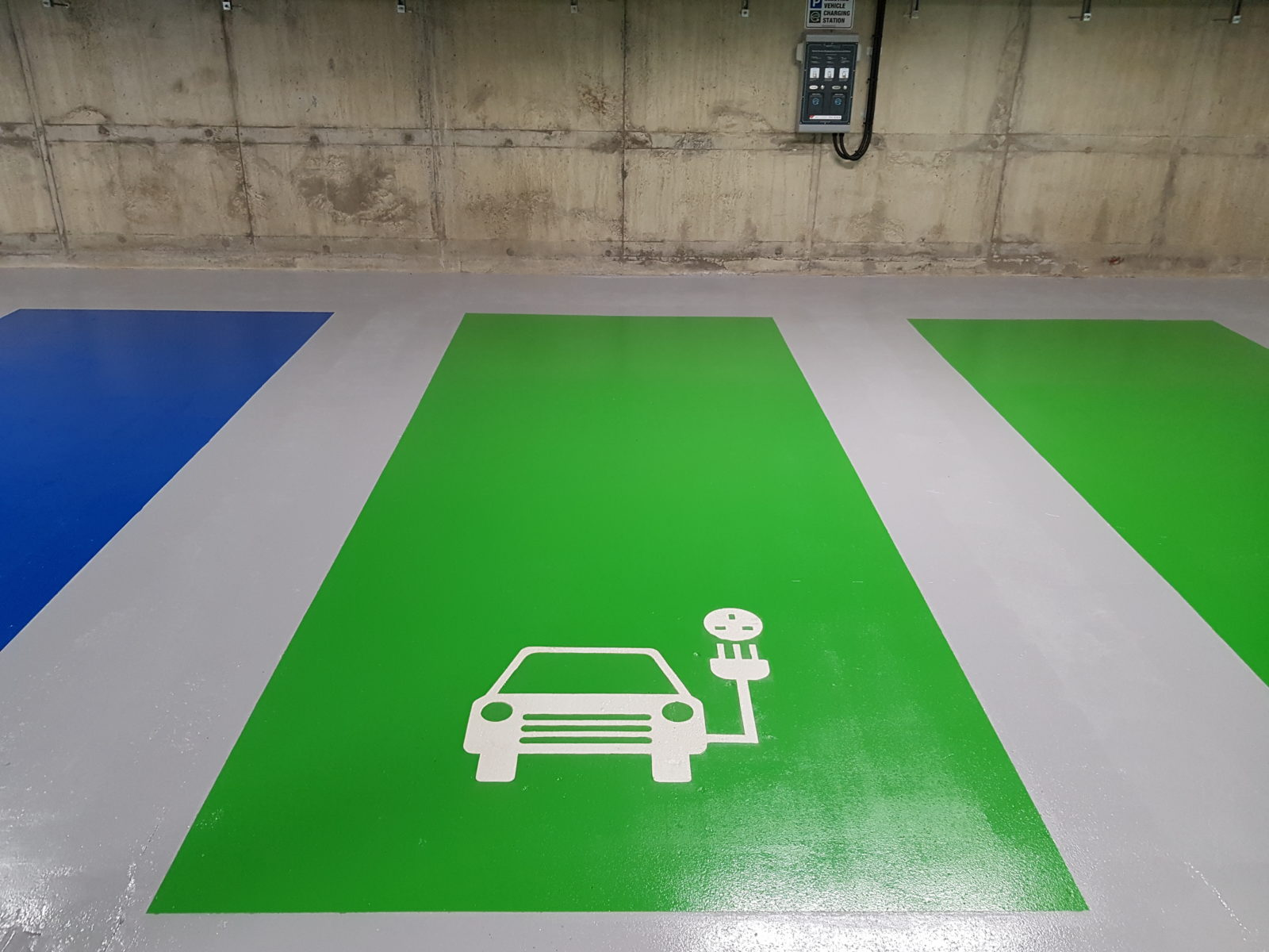 car park resin floor coatings