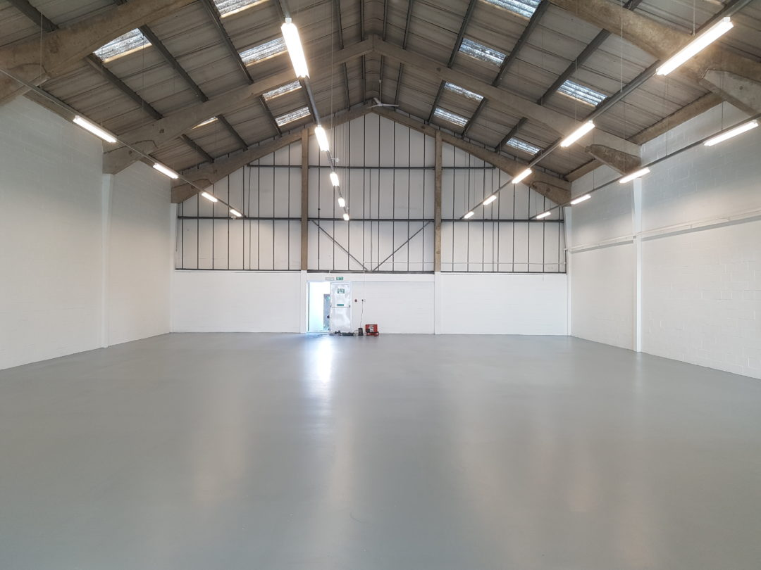 Industrial Epoxy Floor | Kent Blaxill