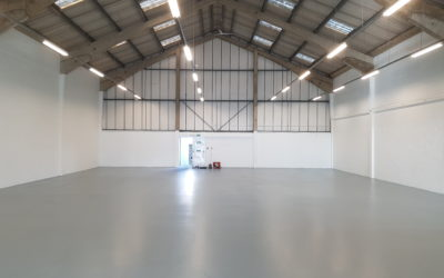 Industrial Epoxy Floor | Kent Blaxill