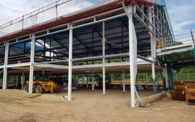 Structural Steel Fire Protection | Norwich