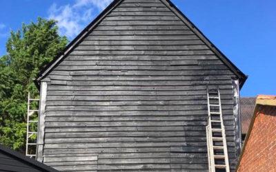 Farm Building Painting