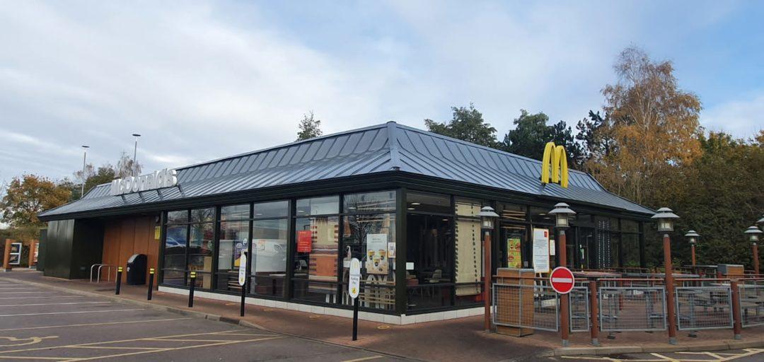 McDonalds | Roof Spraying